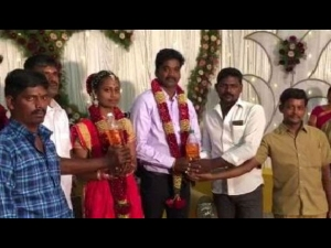 Petrol Was Gifted To A Newly Wed Couple