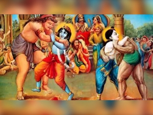 How Lord Krishna Killed Kamsa