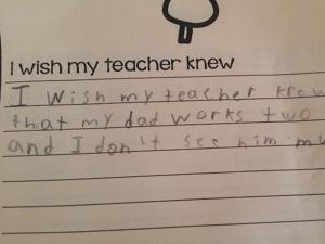 Heartfelt Notes From Kids To Teacher