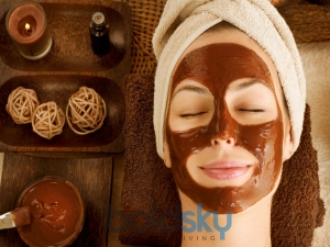 Four Homemade Chocolate Face Masks For Skin