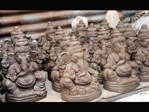 How To Make Eco Friendly Ganapa Idol At Home