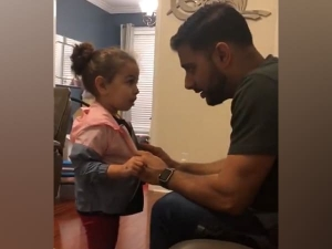 Little Girl Lying To Her Dad About Her New Jacket Video Goe