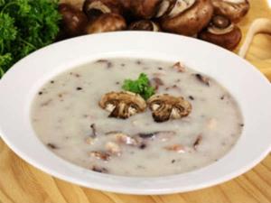 Minute Chicken Mushroom Soup