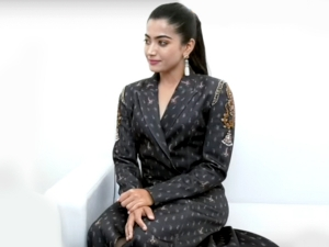 Rashmika Mandanna Outfit At Iffi50 2019