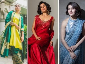 For Different And Attractive Look Can Follow Samantha Style