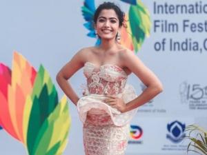 Rashmika Mandanna Outfit At Iiffi50 Closing Ceremony
