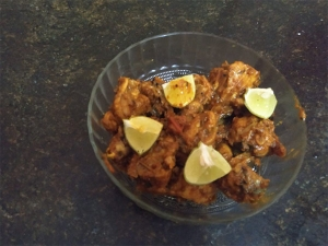 Tomato Chicken Semi Dry Recipe