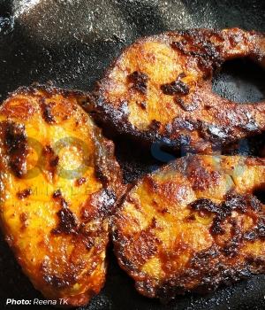 Anjal Fish Tava Fry Recipe