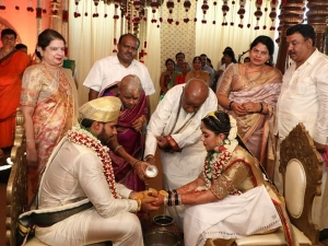 Nikhil Kumaraswamy Revathi Wedding Photos
