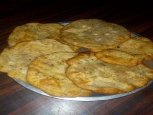 Jackfruit Seeds Poori Recipe