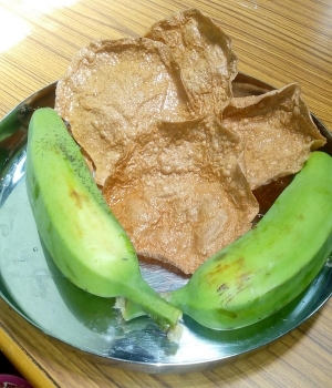 Raw Banana Pappad Recipe