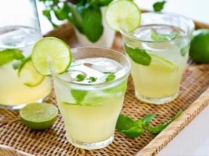 Lime Soda With Lemon Juice Recipe