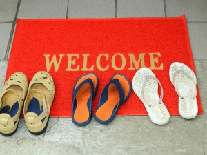 How To Clean Your Door Mats Easily