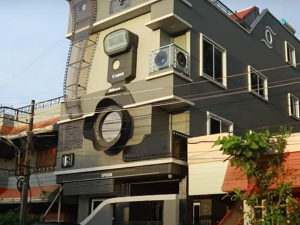 Karnataka Photographer Builds Camera Shaped House