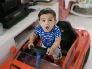 Yash Shares A Super Adorable Video Of His Son Dancing In Car