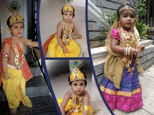 Dressing Idea For Kids On Krishna Janmashtami
