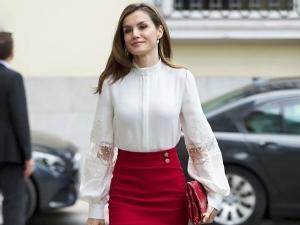 Spain Princess Letizia Beauty Secret And Style Statement