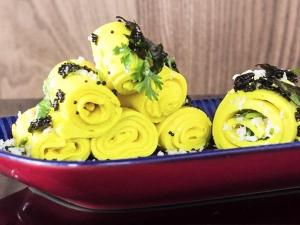 Moongdal Khandvi Recipe In Kannada