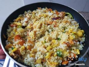 Egg Fried Rice Recipe In Kannada