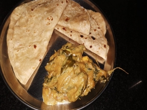 Bitter Gourd And Peanut Curry Recipe