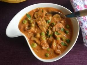 Matar Mushroom Recipe In Kannada