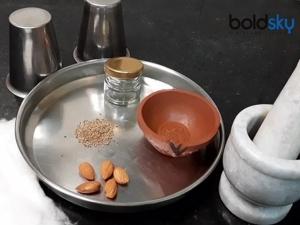 Traditional Art Of Making Kajal At Home In Kannada