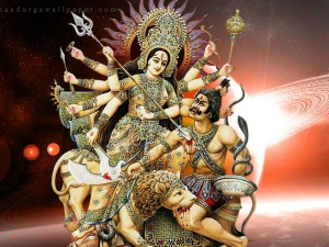Navratri Weapons Of Goddess Durga And Its Significance In Kannada
