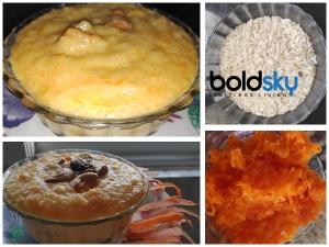 Carrot Phirni Recipe In Kannada