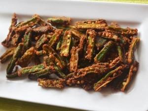 Lady Finger Fries Recipe In Kannada