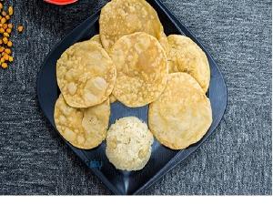 Navratri Prasad Special Poori Recipe In Kannada