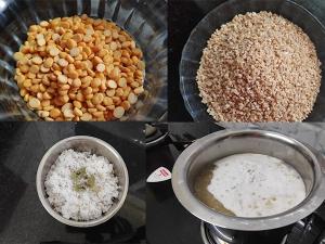 Broken Wheat And Channa Dal Payasa Recipe In Kannada