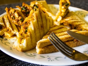 Cheese Paneer Grilled Sandwich Recipe In Kannada