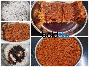 Coconut And Jaggery Burfi Recipe In Kannada
