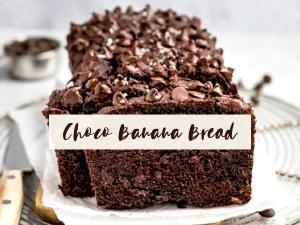 Gluten Free Choco Banana Bread Recipe In Kannada