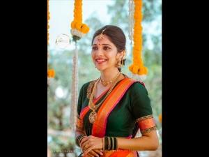 Milana Nagaraj Unique Looks As A Bride For Her Wedding
