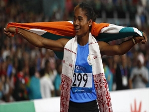 Hima Das Inspiring Story Of An Athlete Who Won India S First Gold Medal