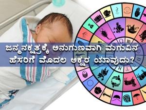 Names Based On Your Baby S Nakshatra In Kannada