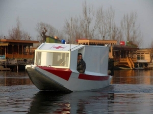 Stories Of Strength Dal Lake Gets Floating Ambulance To Aid Covid 19 Patients