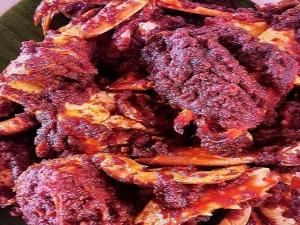 Crab Ghee Roast Masala Recipe In Kannada
