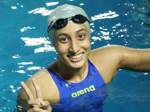 Who Is Maana Patel Know India S First Female Swimmer At Tokyo Olympics Age Education Family Detai