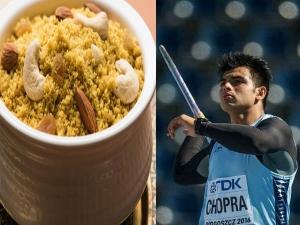 Neeraj Chopra Diet Plan Eating Habits Of Tokyo Olympics Gold Medalist In Kannada