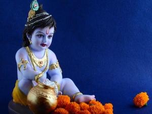 Krishna Janmashtami Puja Vidhi Vrat Vidhi Puja Samagri Puja Rituals And Mantra