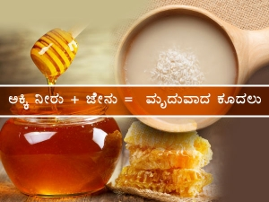 Diy Rinse Using Rice Water And Honey For Dry Hair In Kannada