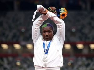 Who Is Raven Saunders Inspiring Story Of Athlete Who Won Silver At Tokyo Olympics In Women S Shot P