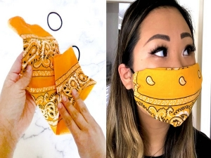 Tips To Stay Cool While Wearing A Face Mask In Kannada