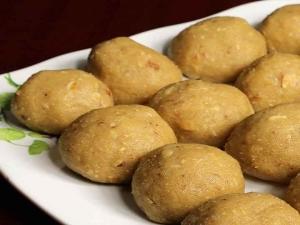 Badam Ladoo Recipe In Kannada