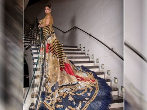 Who Is Sudha Reddy Only Indian At Met Gala 2021 Check Out Her Red Carpet Outfit Photos