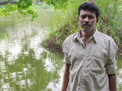 ರಿಯಲ್ ಲೈಫ್ ಸ್ಟೋರಿ: ಬೆಂಗಳೂರಿನ ಕೆರೆಯನ್ನು ಸ್ವಚ್ಛಗೊಳಿಸುವ ಸೀನಪ್ಪ